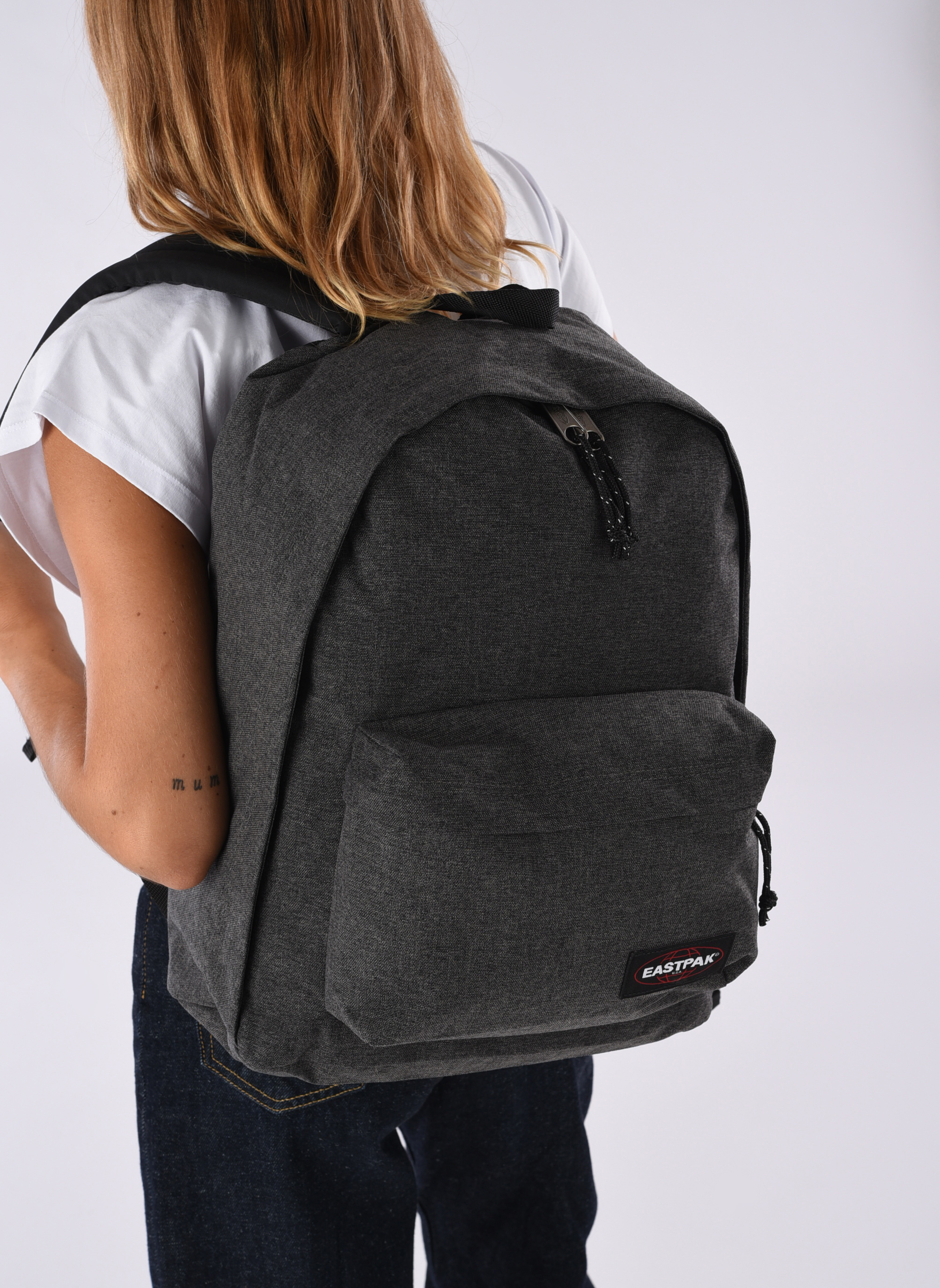 OUT OF OFFICE Sac à dos toile Black Denim