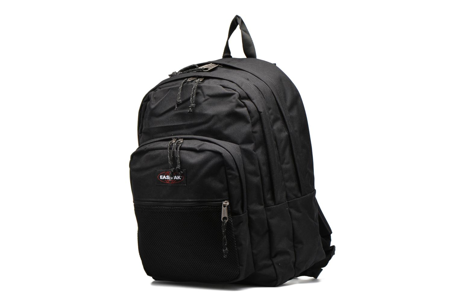 School bags Eastpak PINNACLE Sac à dos toile Black model view