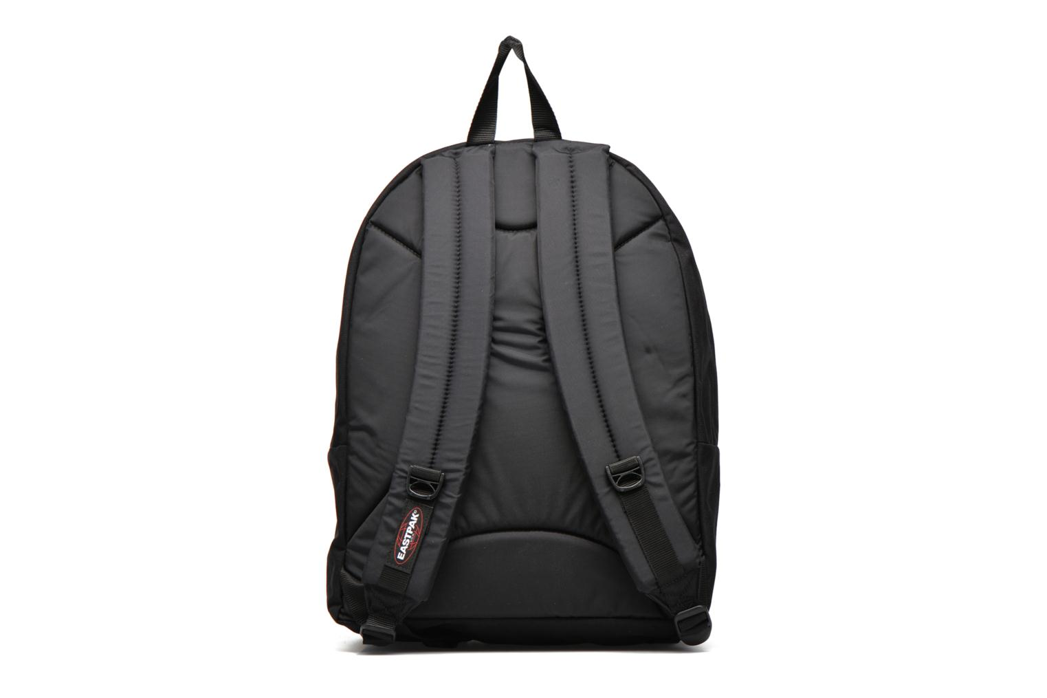 School bags Eastpak PINNACLE Sac à dos toile Black front view