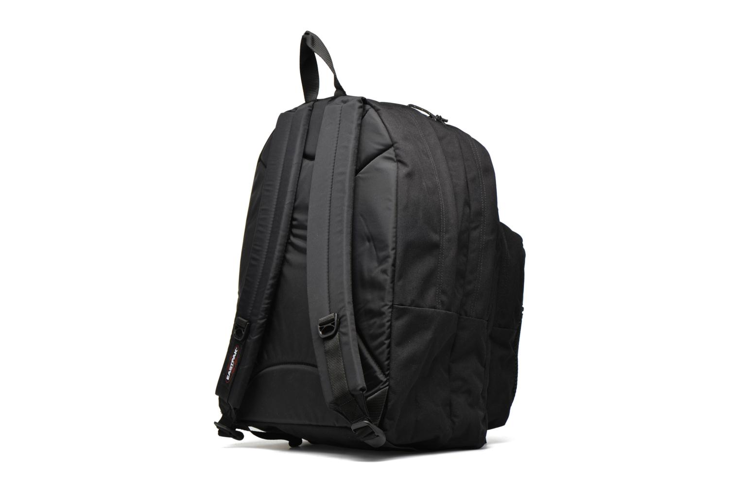 School bags Eastpak PINNACLE Sac à dos toile Black view from the right