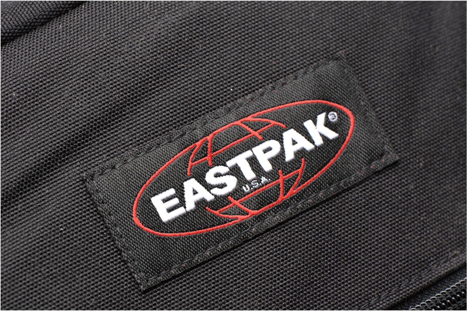 School bags Eastpak PINNACLE Sac à dos toile Black view from the left