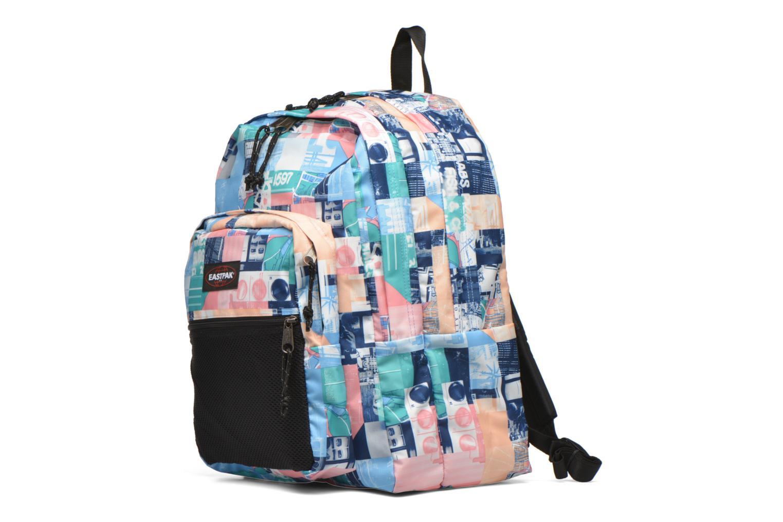 Per la scuola Eastpak PINNACLE Sac à dos toile Multicolore modello indossato