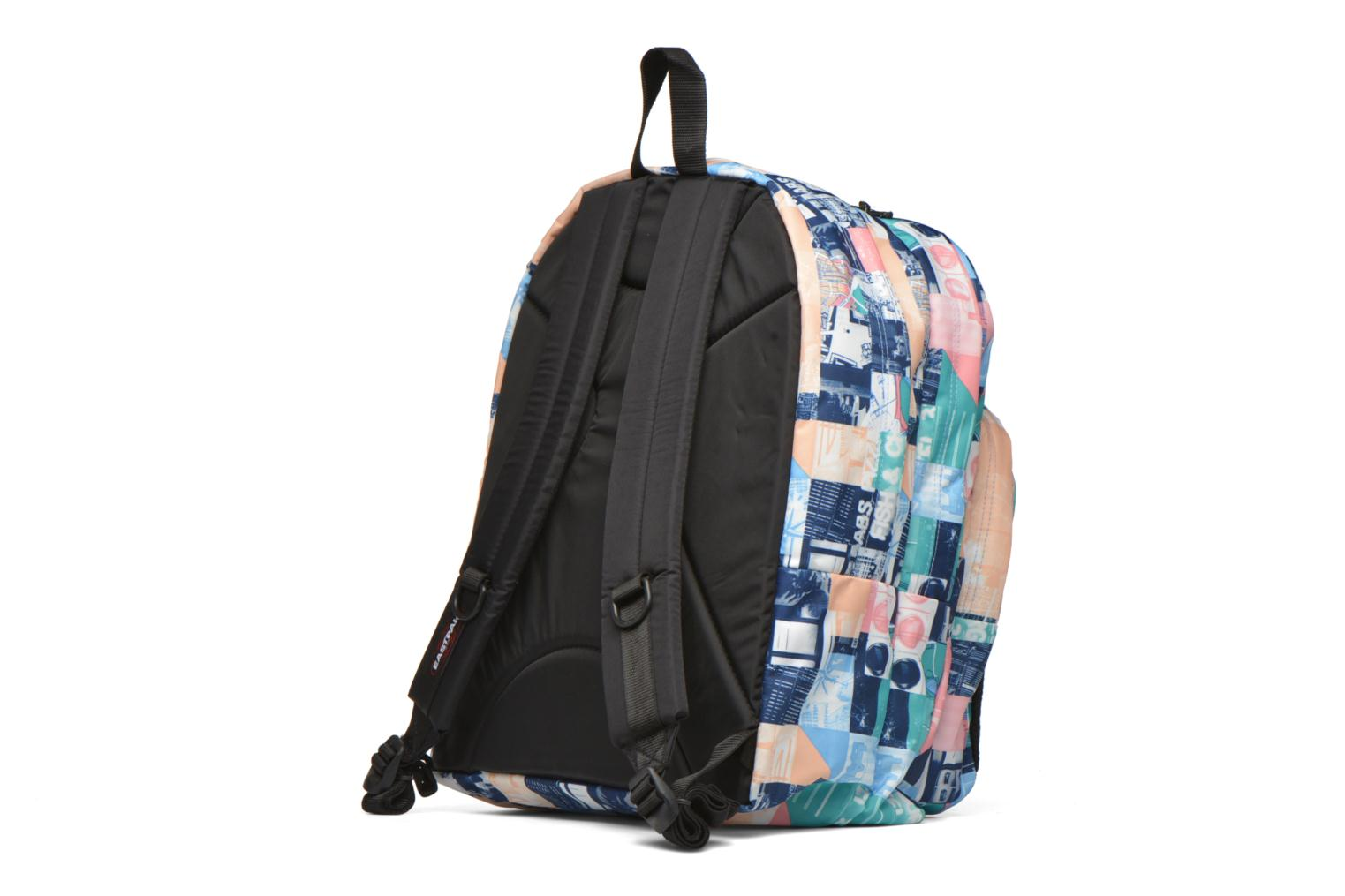 School bags Eastpak PINNACLE Sac à dos toile Multicolor view from the right
