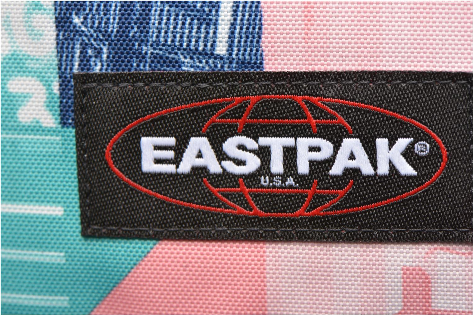 School bags Eastpak PINNACLE Sac à dos toile Multicolor view from the left