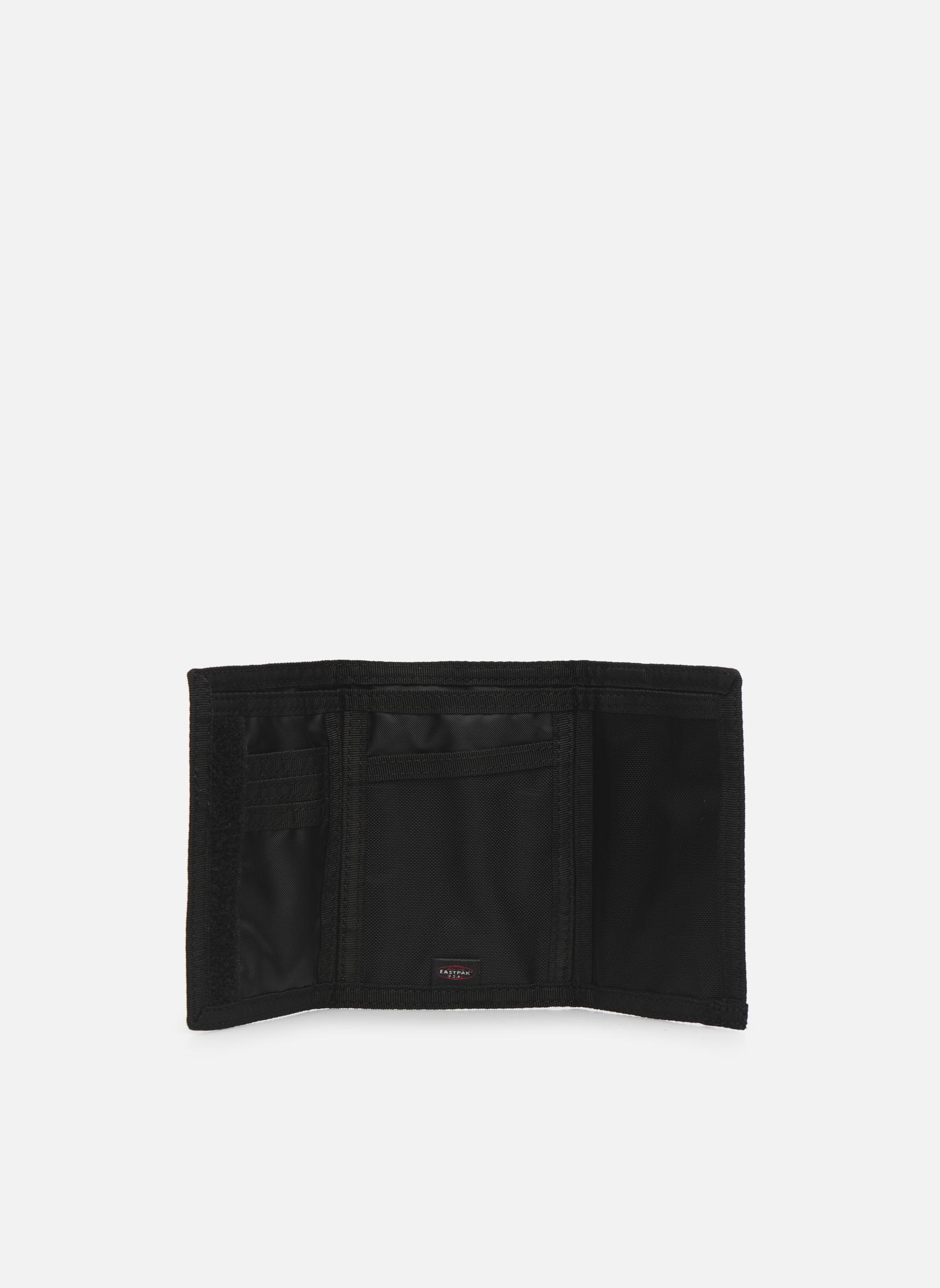 Petite Maroquinerie Eastpak CREW Portefeuille toile Noir vue derrière