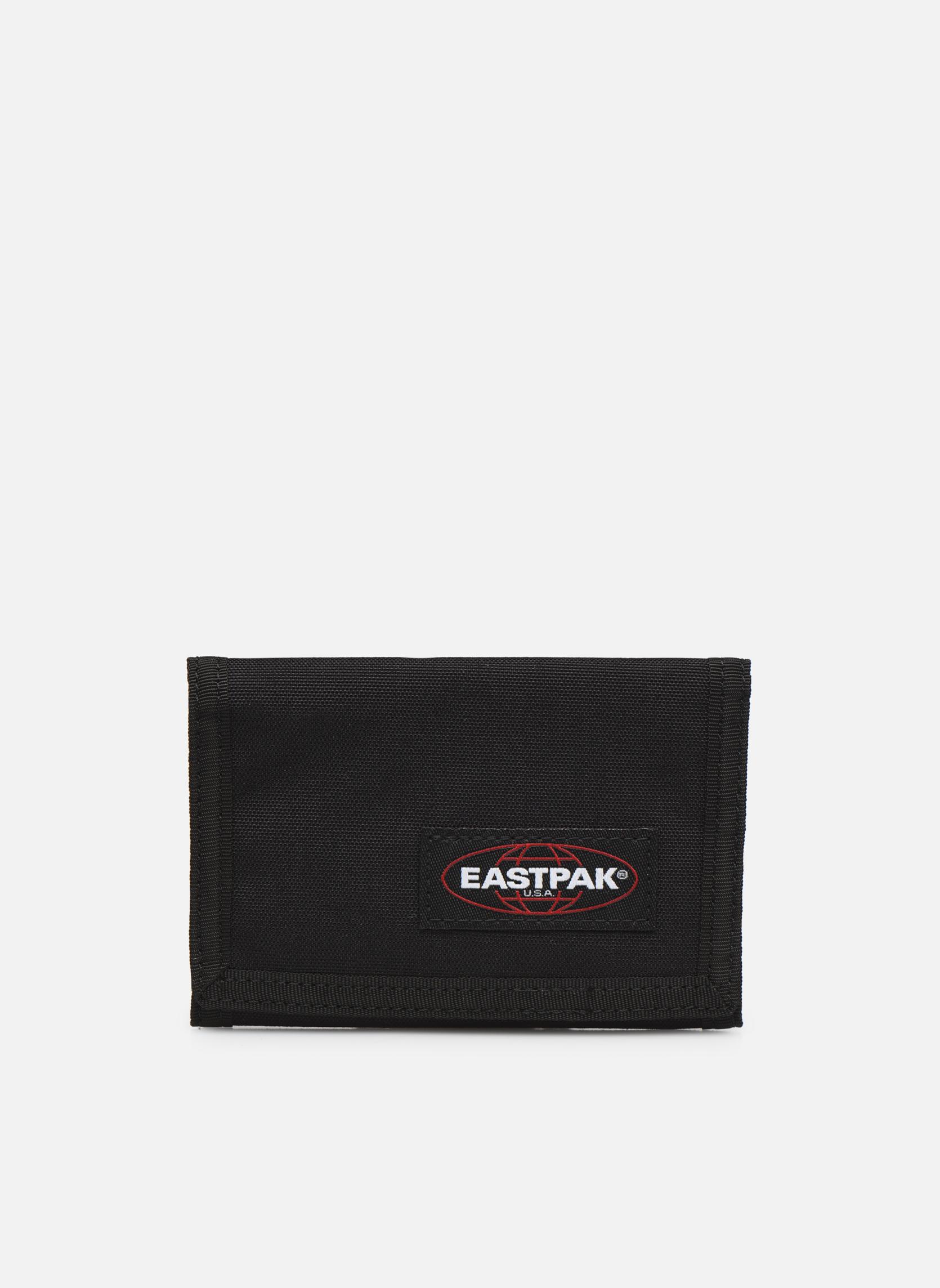 Petite Maroquinerie Eastpak CREW Portefeuille toile Noir vue détail/paire