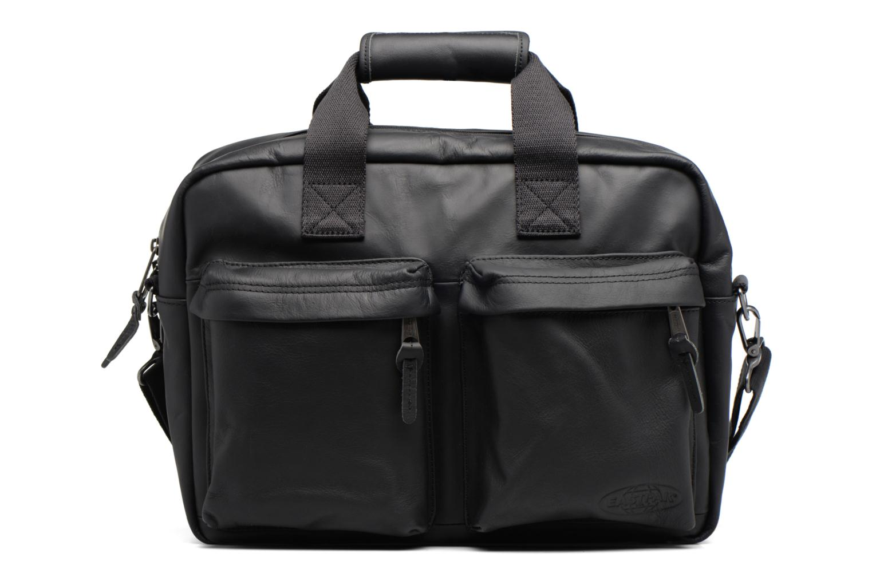 TOMEC Sacoche ordinateur cuir Black Ink Leather
