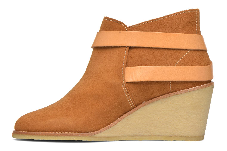 Stiefeletten & Boots Aigle Diligan braun ansicht von vorne