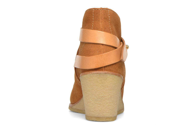 Stiefeletten & Boots Aigle Diligan braun ansicht von rechts
