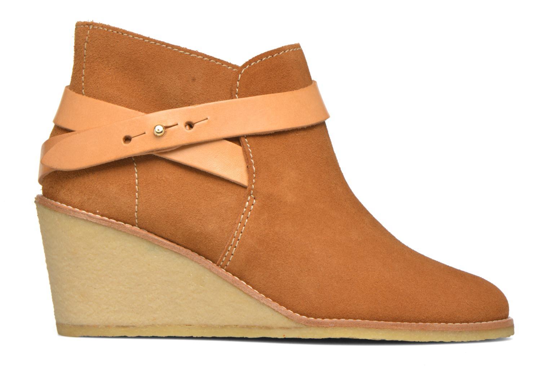 Stiefeletten & Boots Aigle Diligan braun ansicht von hinten