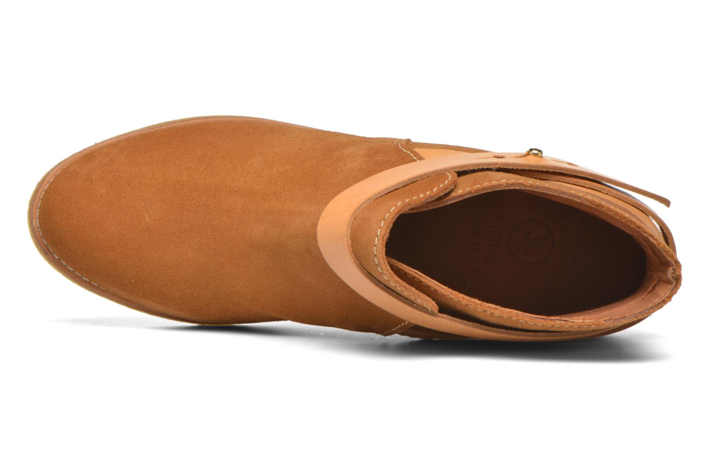 Stiefeletten & Boots Aigle Diligan braun ansicht von links