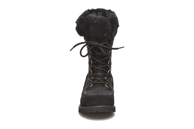 Bottines et boots Aigle Ousery Nylon 2 Noir vue portées chaussures