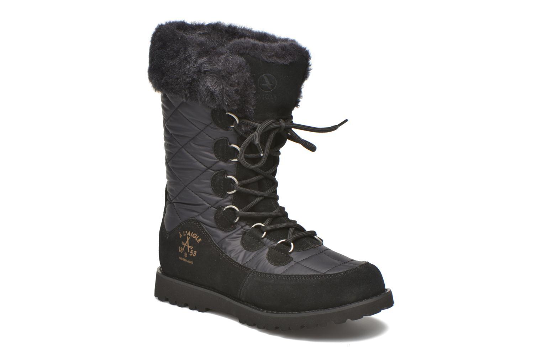 Bottines et boots Aigle Ousery Nylon 2 Noir vue détail/paire