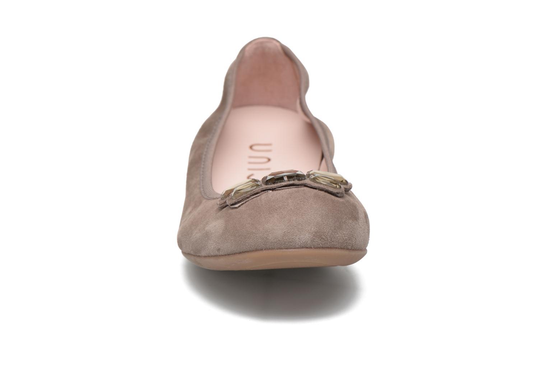 Ballet pumps Unisa Anti Brown model view