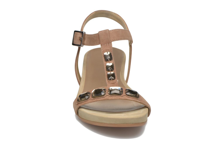 Sandales et nu-pieds Unisa Buny Marron vue portées chaussures