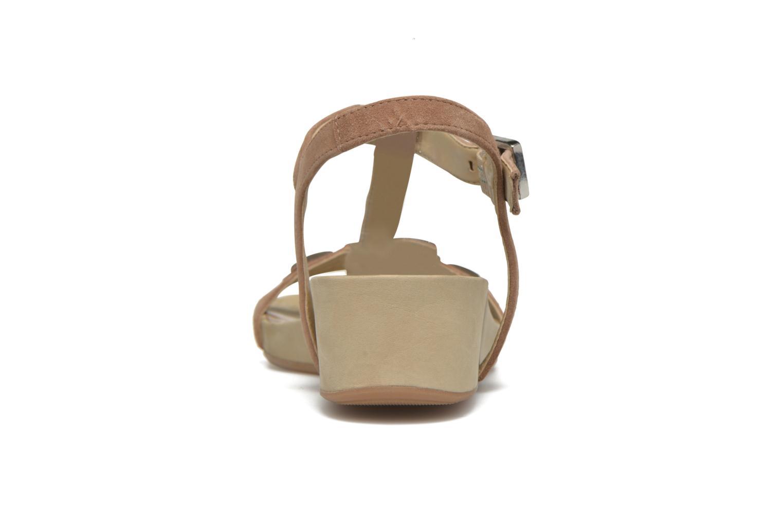 Sandales et nu-pieds Unisa Buny Marron vue droite