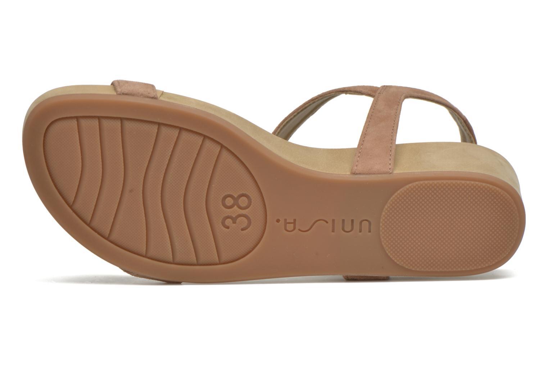 Sandales et nu-pieds Unisa Buny Marron vue haut