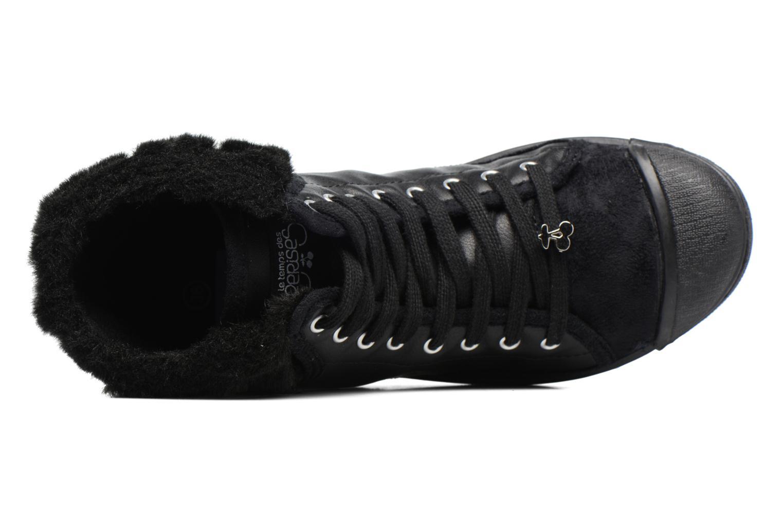 Baskets Le temps des cerises Basic 03 Fur Noir vue gauche