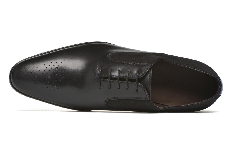 Chaussures à lacets Heyraud DILLE Noir vue gauche