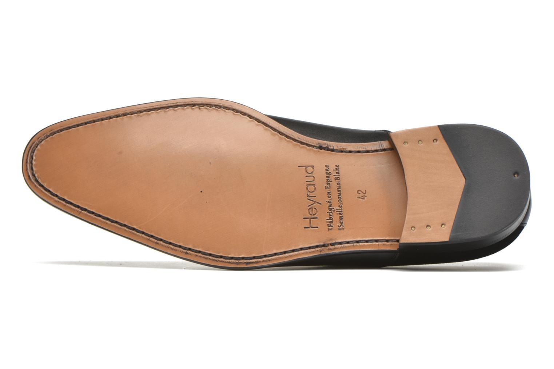 Chaussures à lacets Heyraud DILLE Noir vue haut