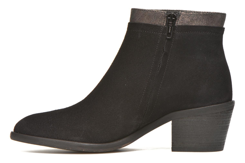 Boots en enkellaarsjes Schmoove Woman Neptune zip boots Zwart voorkant
