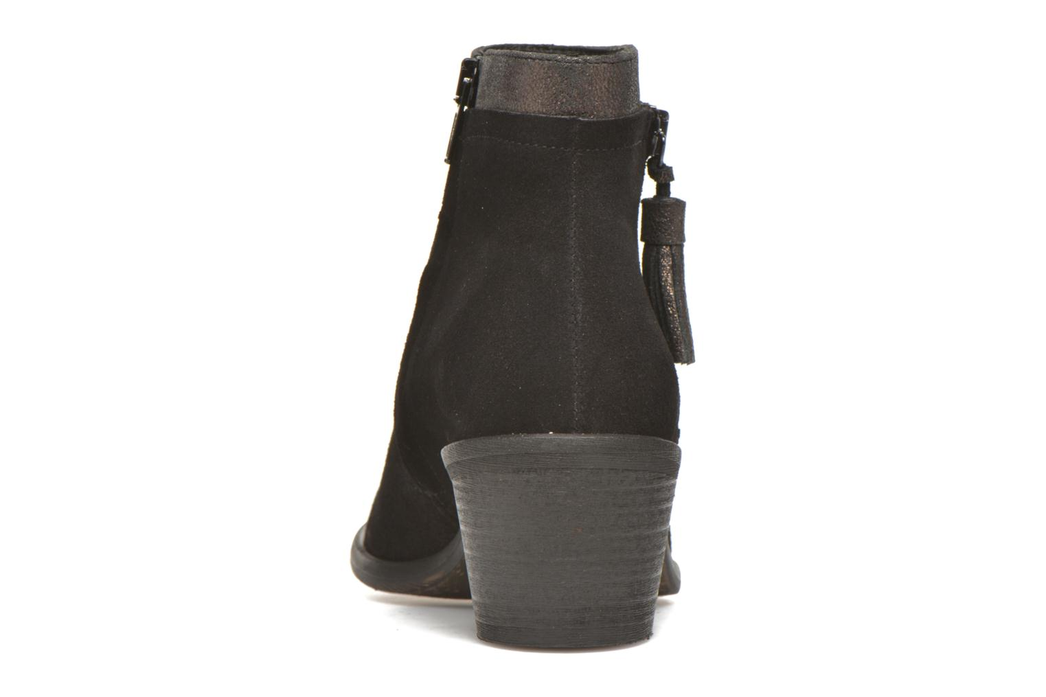 Ankle boots Schmoove Woman Neptune zip boots Black view from the right
