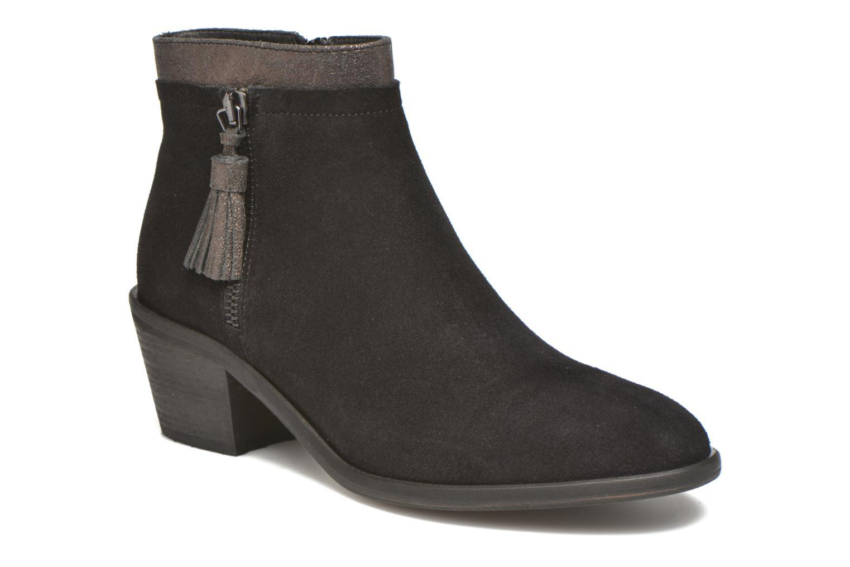 Boots en enkellaarsjes Schmoove Woman Neptune zip boots Zwart detail