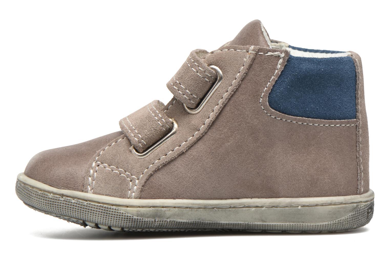 Velcro shoes Primigi Jordan 1 Brown front view