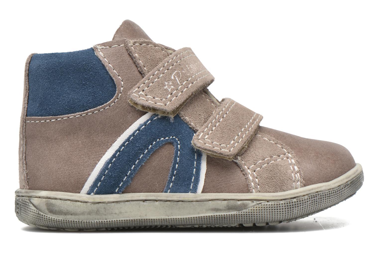 Velcro shoes Primigi Jordan 1 Brown back view