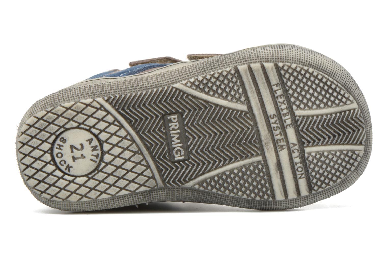 Zapatos con velcro Primigi Jordan 1 Marrón vista de arriba