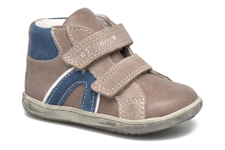Velcro shoes Primigi Jordan 1 Brown detailed view/ Pair view