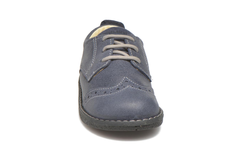 Chaussures à lacets Primigi Dixy Bleu vue portées chaussures