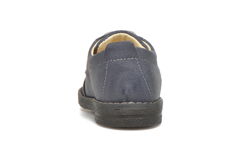 Chaussures à lacets Primigi Dixy Bleu vue droite
