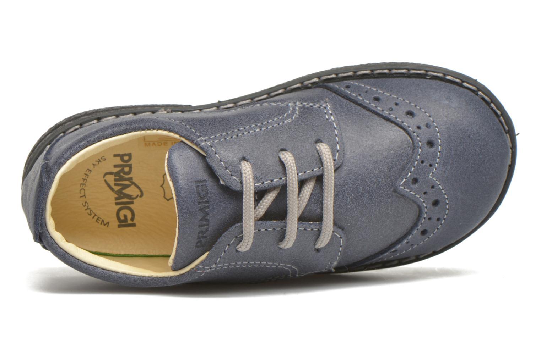 Chaussures à lacets Primigi Dixy Bleu vue gauche