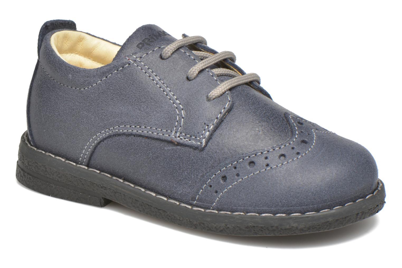 Chaussures à lacets Primigi Dixy Bleu vue détail/paire