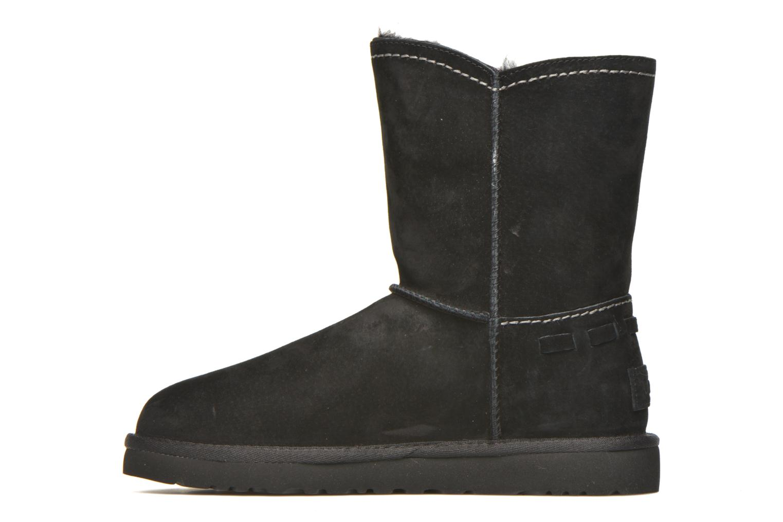 Bottines et boots UGG W Meadow Noir vue face