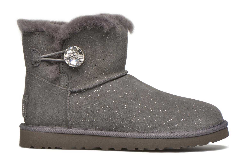 Bottines et boots UGG W Mini bailey button bling constellation Gris vue derrière