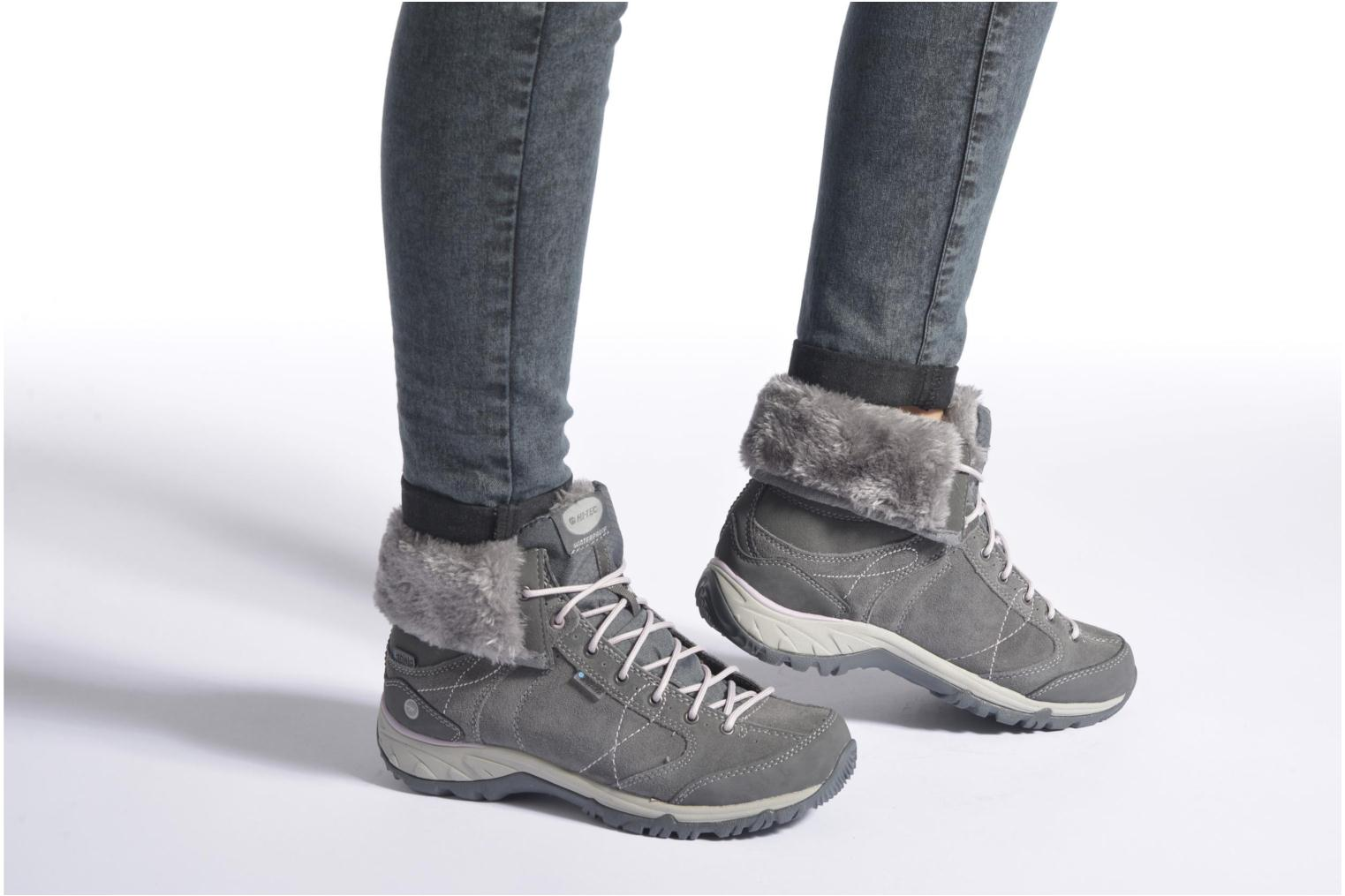 Sport shoes Hi-Tec Equilibrio Bellini Snug I Wp Wo'S Grey view from underneath / model view