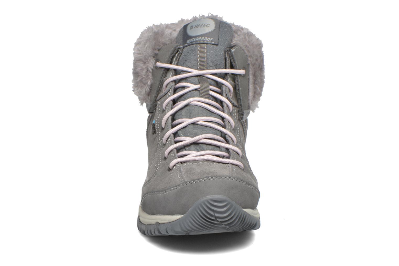 Scarpe sportive Hi-Tec Equilibrio Bellini Snug I Wp Wo'S Grigio modello indossato