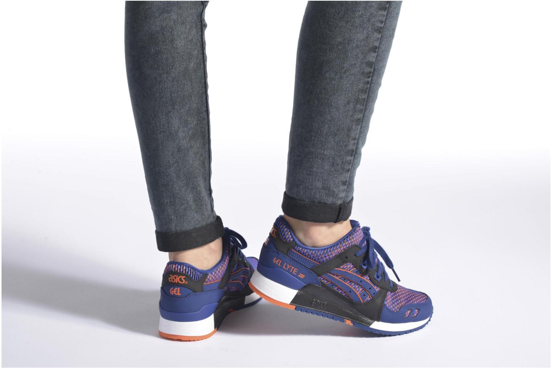 Sneaker Asics Gel-lyte III chameleoid mehrfarbig ansicht von unten / tasche getragen