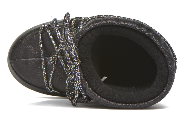 Bottes Moon Boot Delux E Noir vue gauche