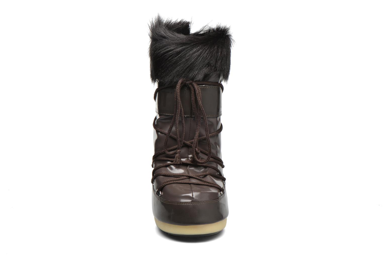 Bottes Moon Boot Vail E Marron vue portées chaussures