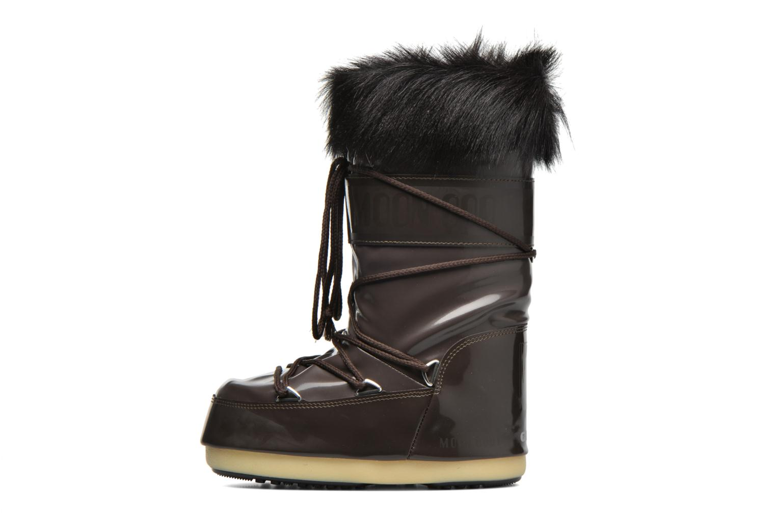 Bottes Moon Boot Vail E Marron vue face