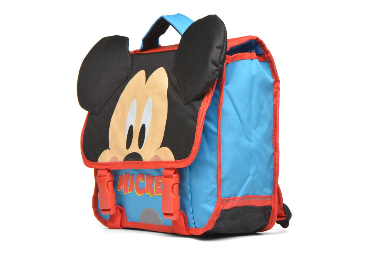 Mickey Cartable 35cm Bleu