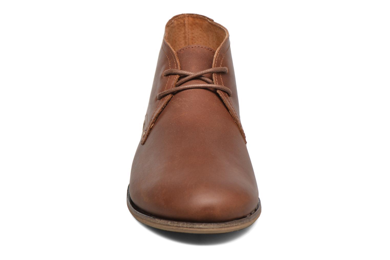 Chaussures à lacets M. Moustache Armand Marron vue portées chaussures