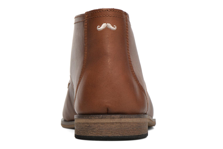Chaussures à lacets M. Moustache Armand Marron vue droite
