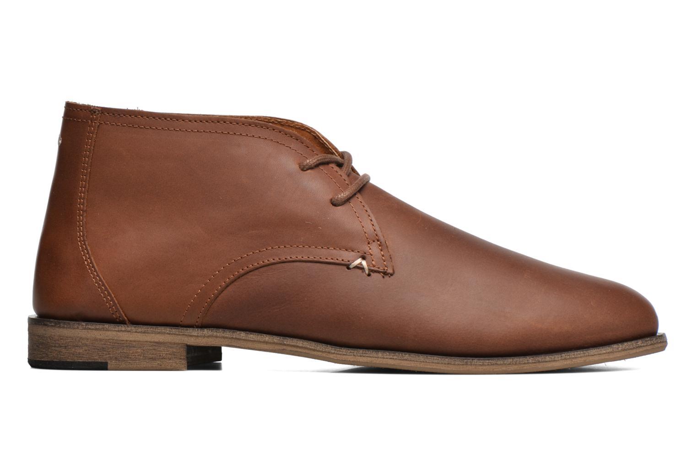Chaussures à lacets M. Moustache Armand Marron vue derrière