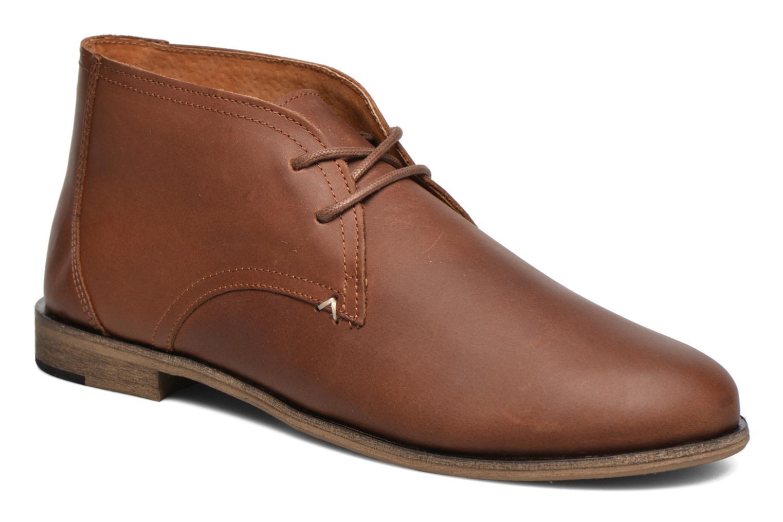 Chaussures à lacets M. Moustache Armand Marron vue détail/paire