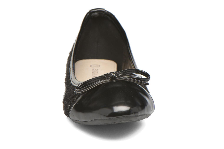Ballerines Enza Nucci Anne Noir vue portées chaussures