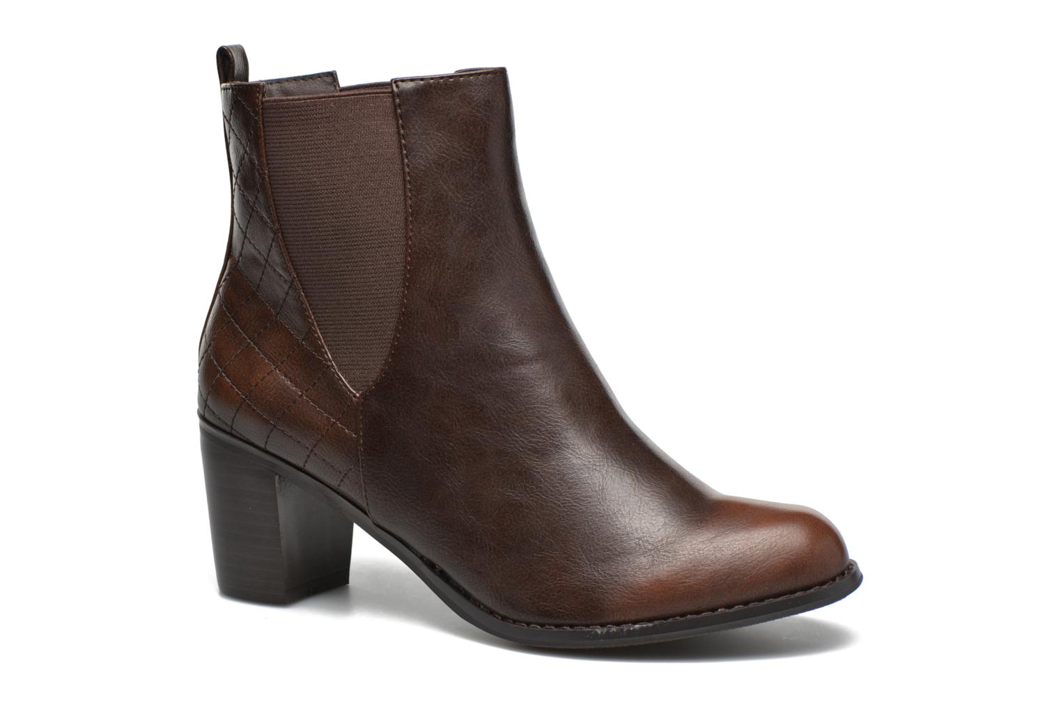 Ankle boots Enza Nucci Edwige Brown detailed view/ Pair view